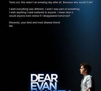 Sevgili Evan Hansen – Film Haberleri |  Film-News.co.uk